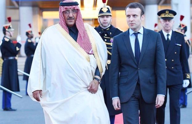 Macron-Arabie-Saourite-coupée-PB-droits-auteur